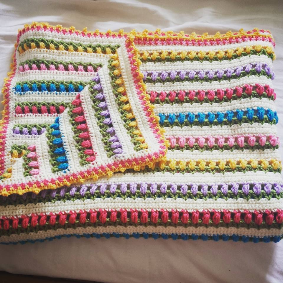 The Tulip Blanket – Pattern – Benny Rens